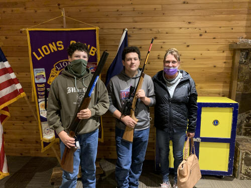 2020 Rifle Raffle Winners